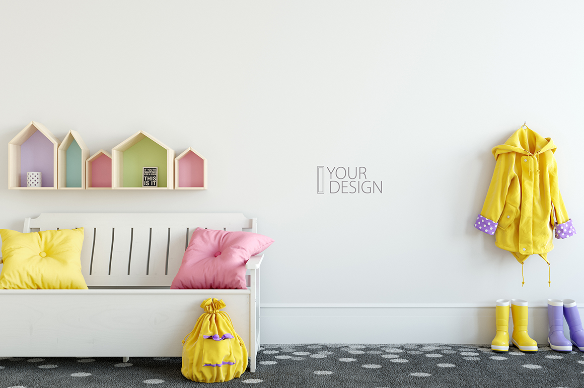KIDS WALL & FRAMES Mockup Bundle - 2 example image 26
