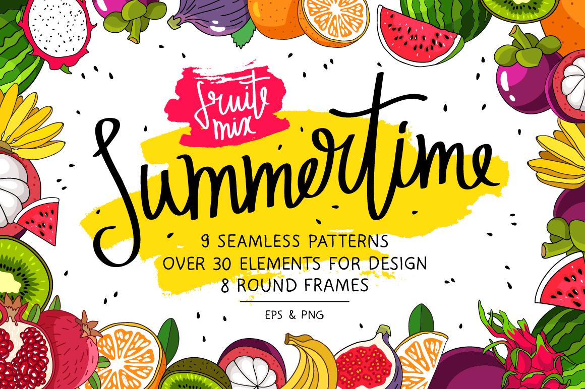 Summertime. Fruit Mix example image 1