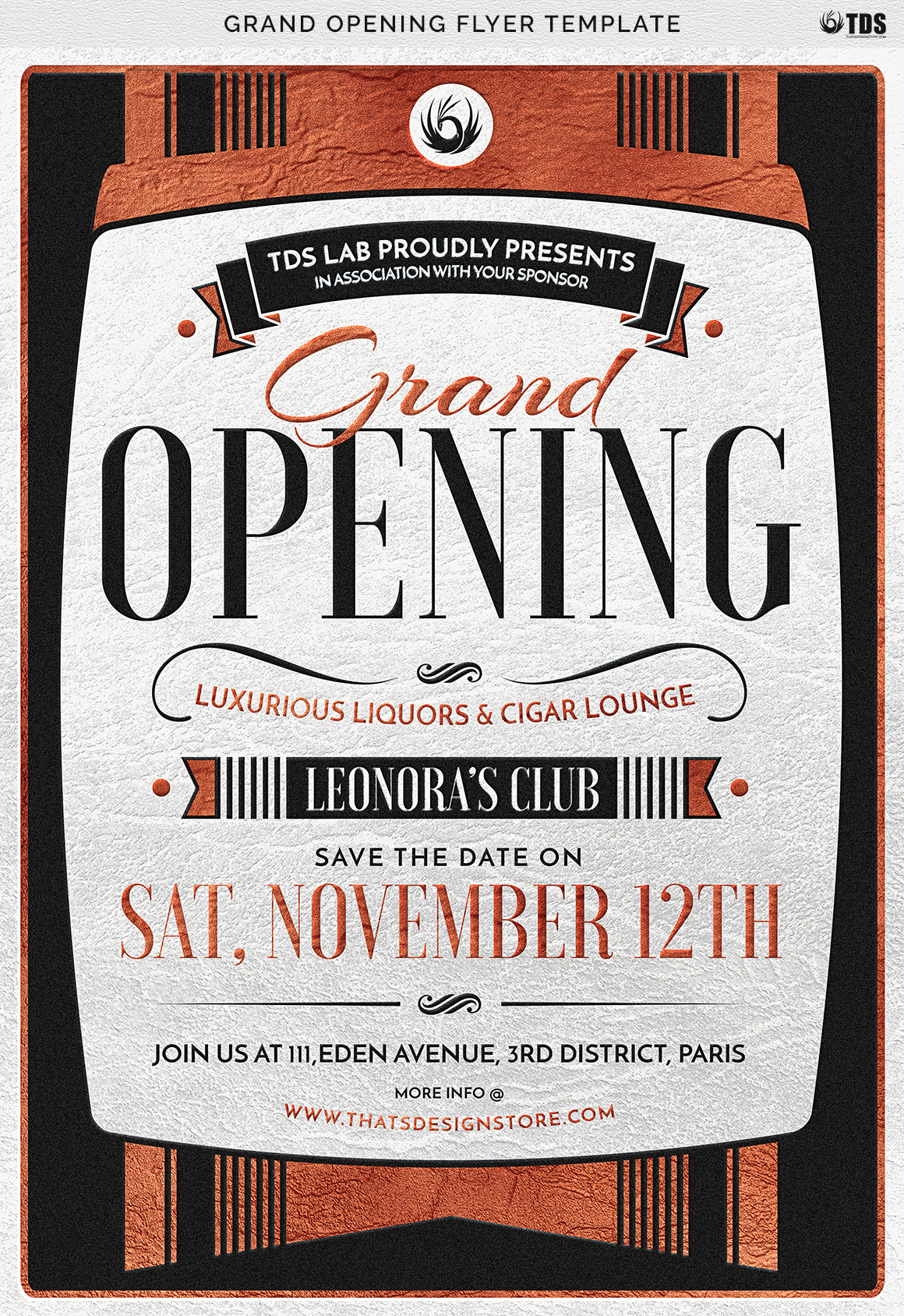 Grand Opening Flyer Template example image 8