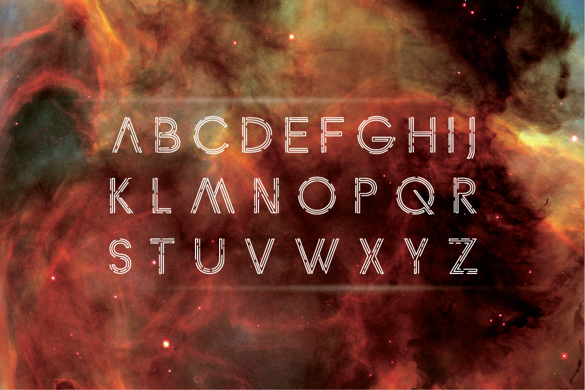 Anxiety Font example image 2