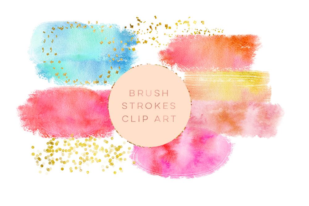 watercolor glitter brushes stroke wate design bundles rh designbundles net glitter clipart glitter clipart border