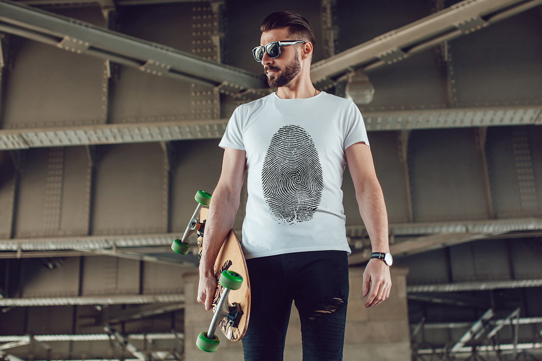 Men's T-Shirt Mock-Up Vol.3 2017 example image 10