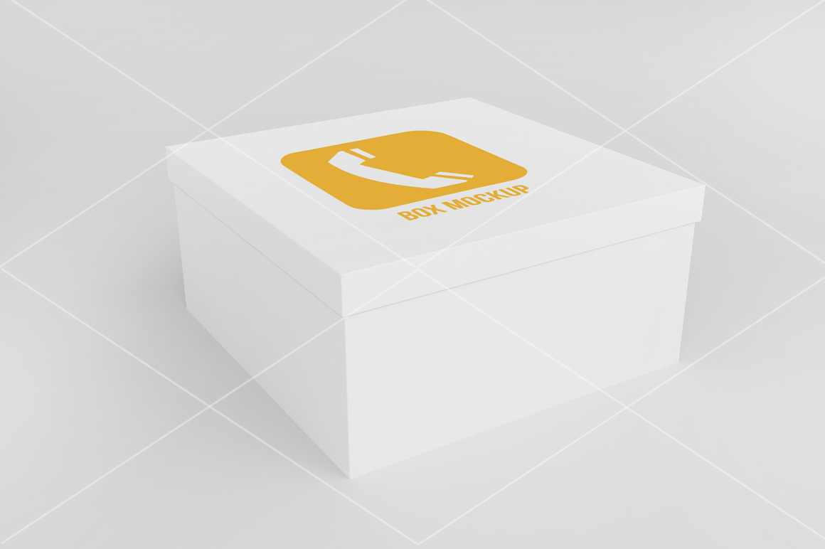 Square Box Mock up example image 2