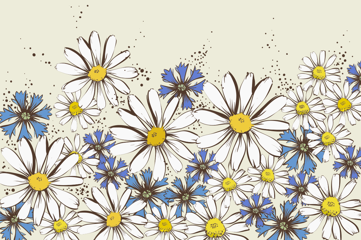 Floral patterns and backgrounds example image 4