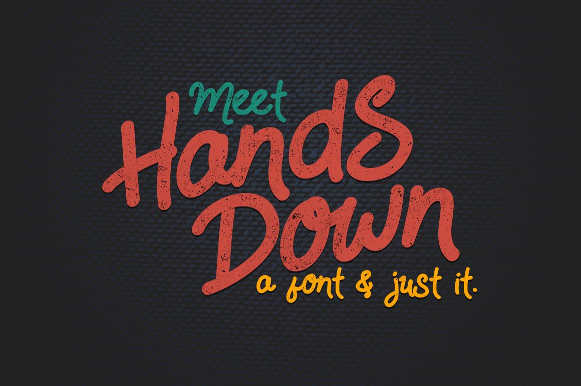 HandsDown example 1