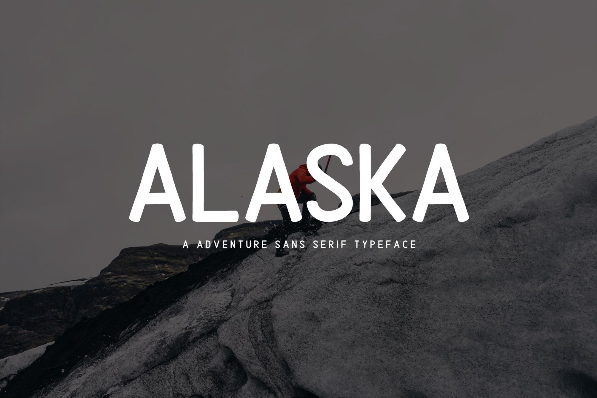 Alaska Typeface Font example image 1