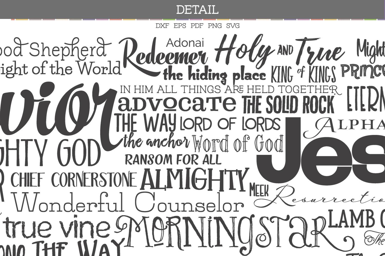 Names of Jesus example image 2