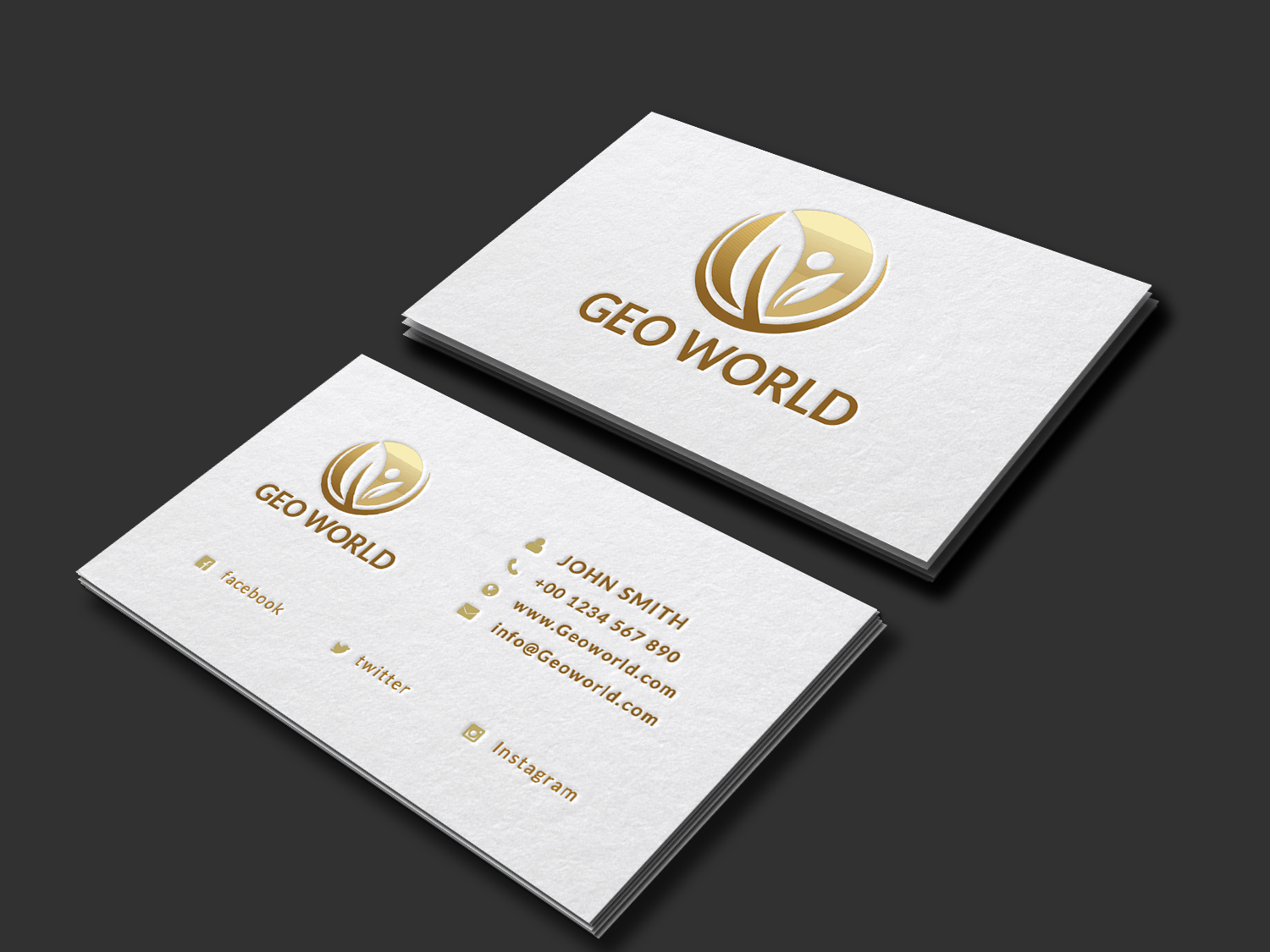 Minimalistic golden business card by we design bundles minimalistic golden business card example image 1 reheart Gallery