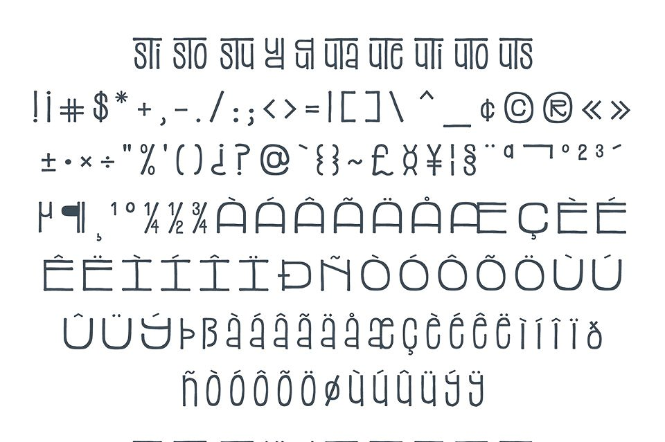 Top 5 Bestselling Fonts Bundle Pack example image 8