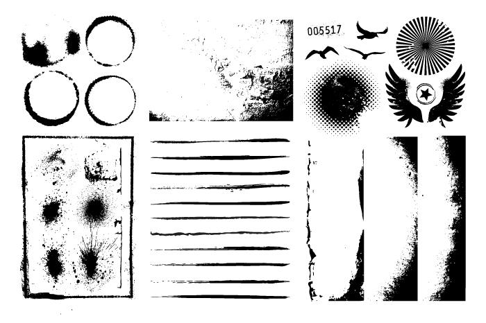 Grunge Design Elements example image 3
