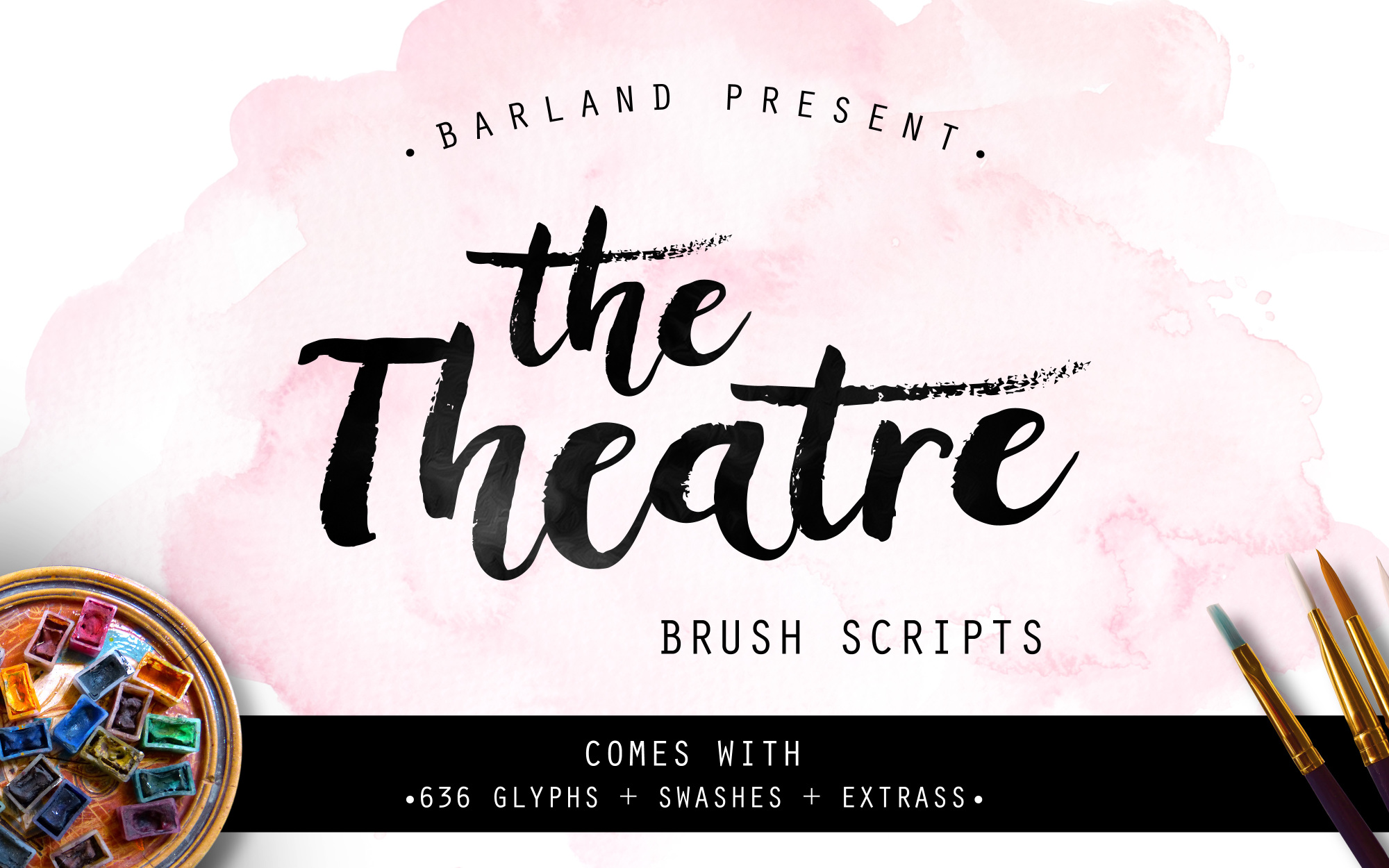 The Theatre Brush - 30% OFF example image 1