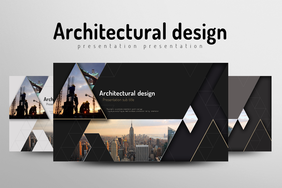 Architecture powerpoint template by goo design bundles architecture powerpoint template example image 1 toneelgroepblik Images