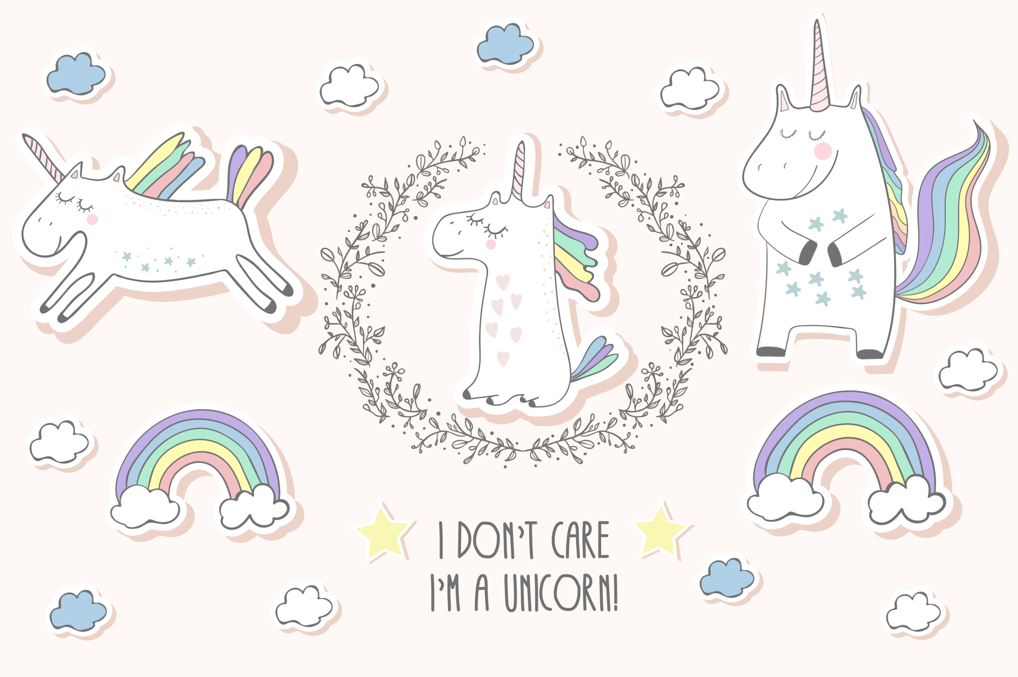 Unicorns set example image 1