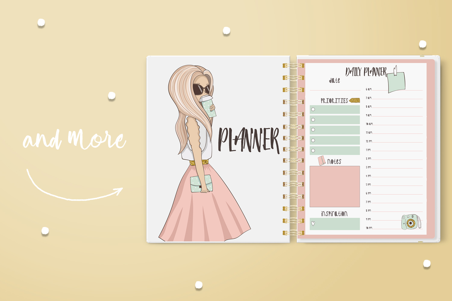 Planner Clipart example image 5