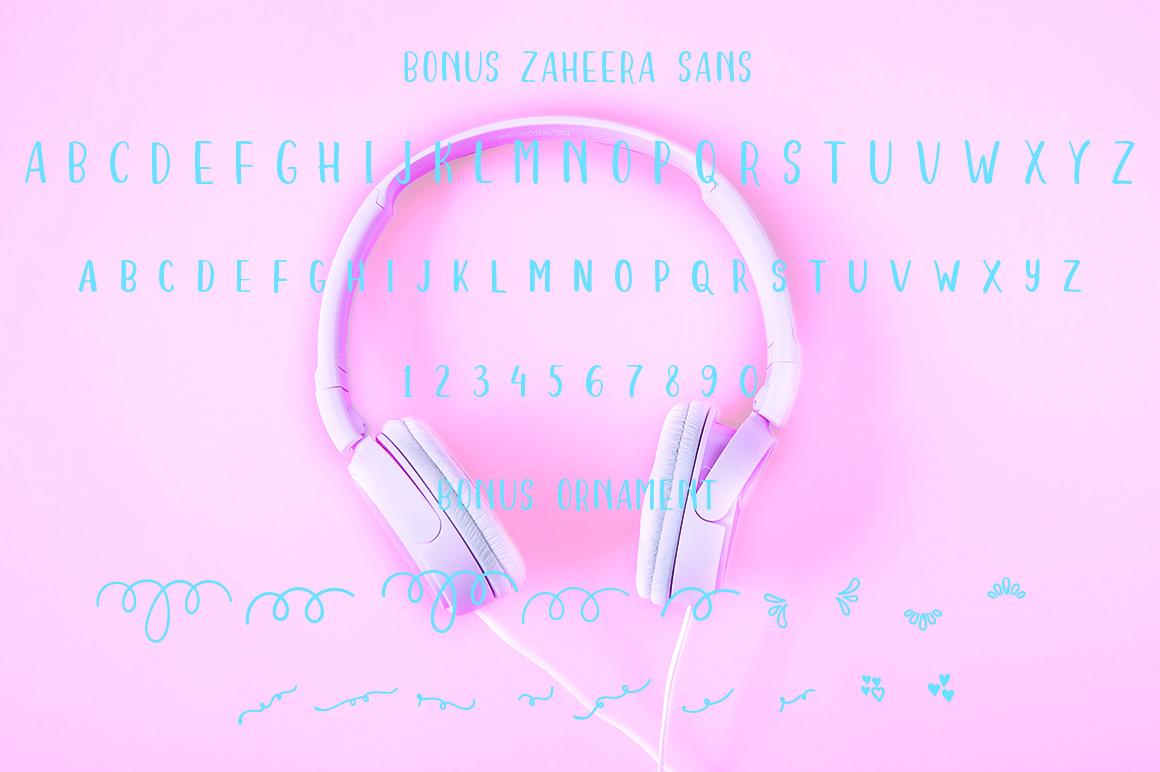 Zaheera Font Duo example image 7