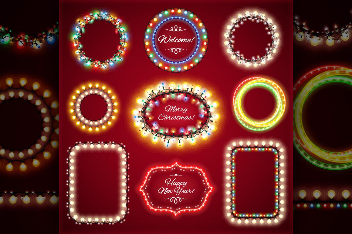 Christmas Lights Decorations Set example image 4