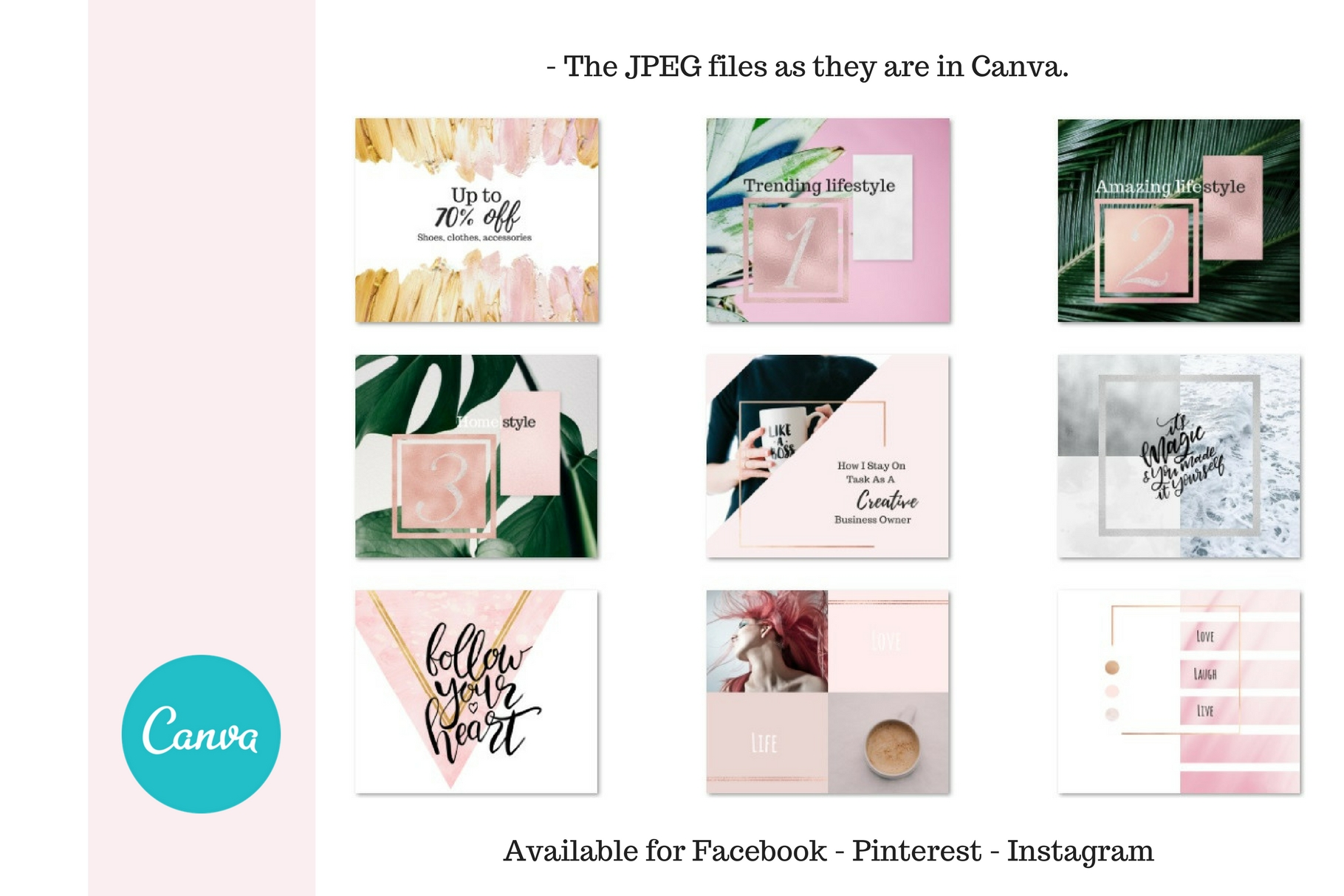 Canva for you - Social media example image 5