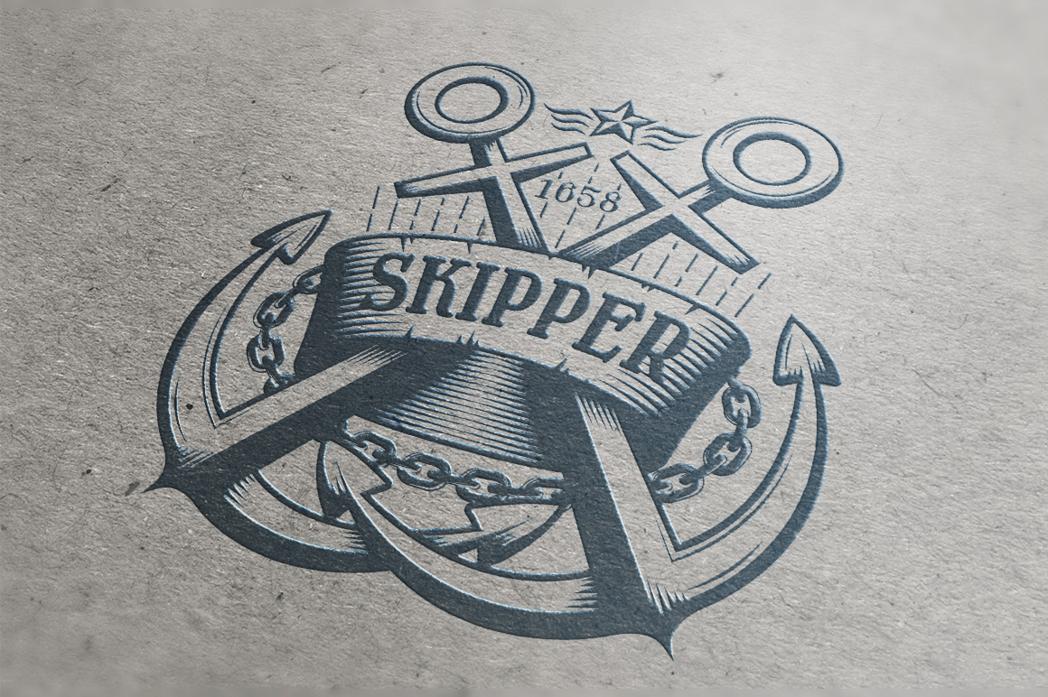 Marine Anchor Logos example image 3
