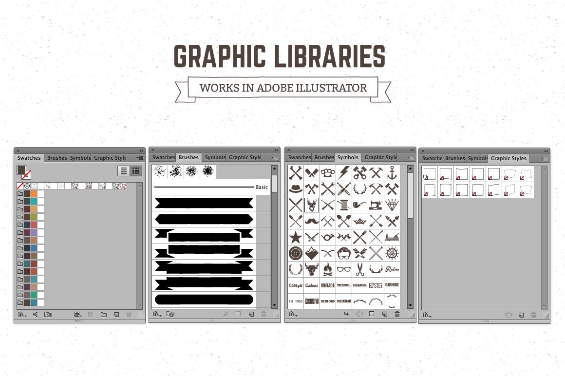 Logo Maker | Retro Emblem Generator example image 5