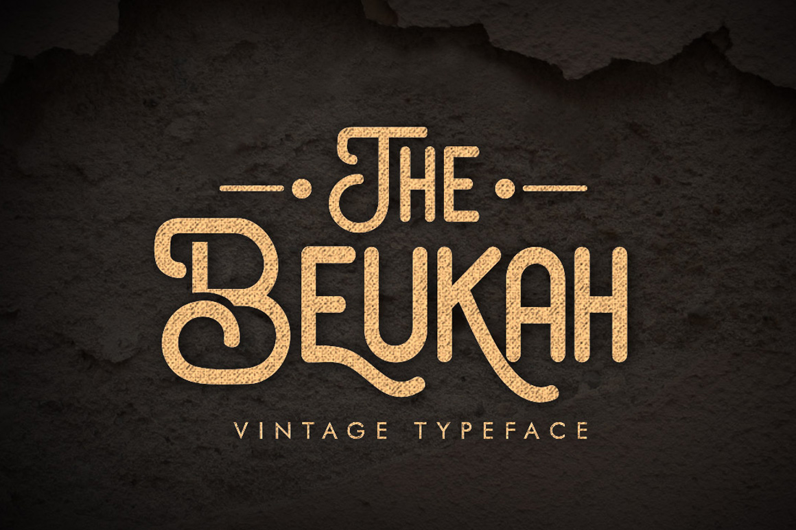 The Beukah (Duo Font) example image 1