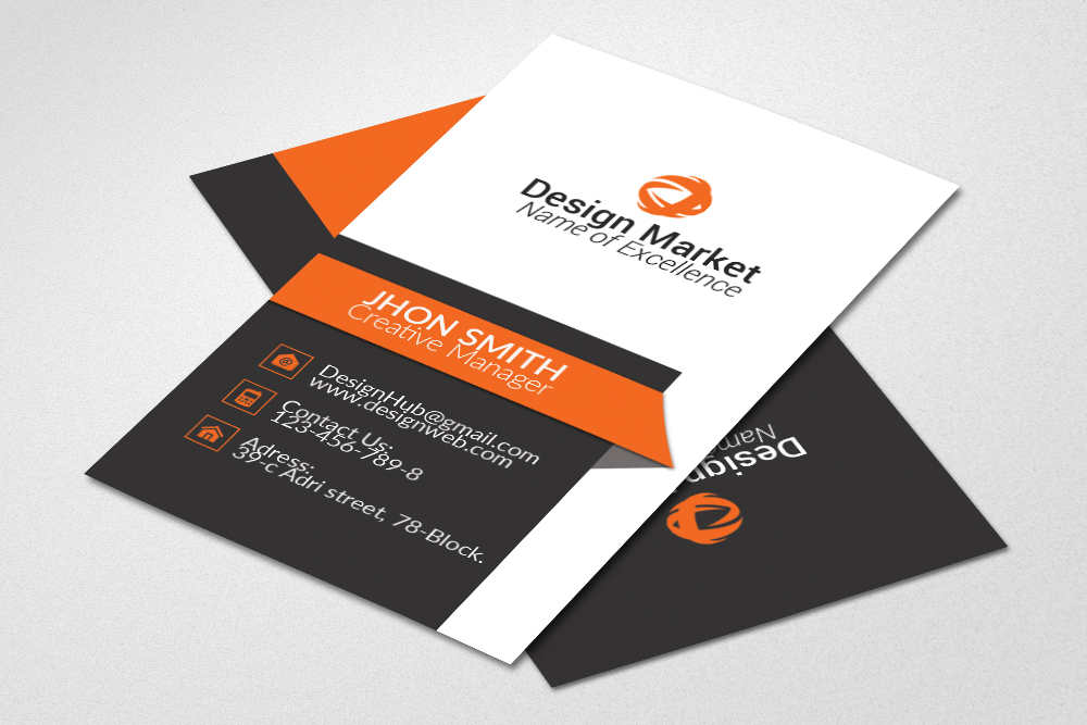 Professional vertical business cards by design bundles professional vertical business cards example image 2 reheart Gallery