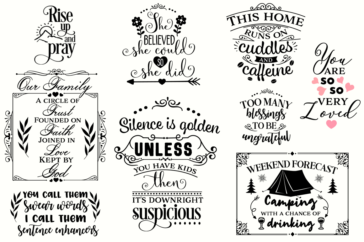 The Big SVG Cut Files Bundle - Limited Promotion! example image 8