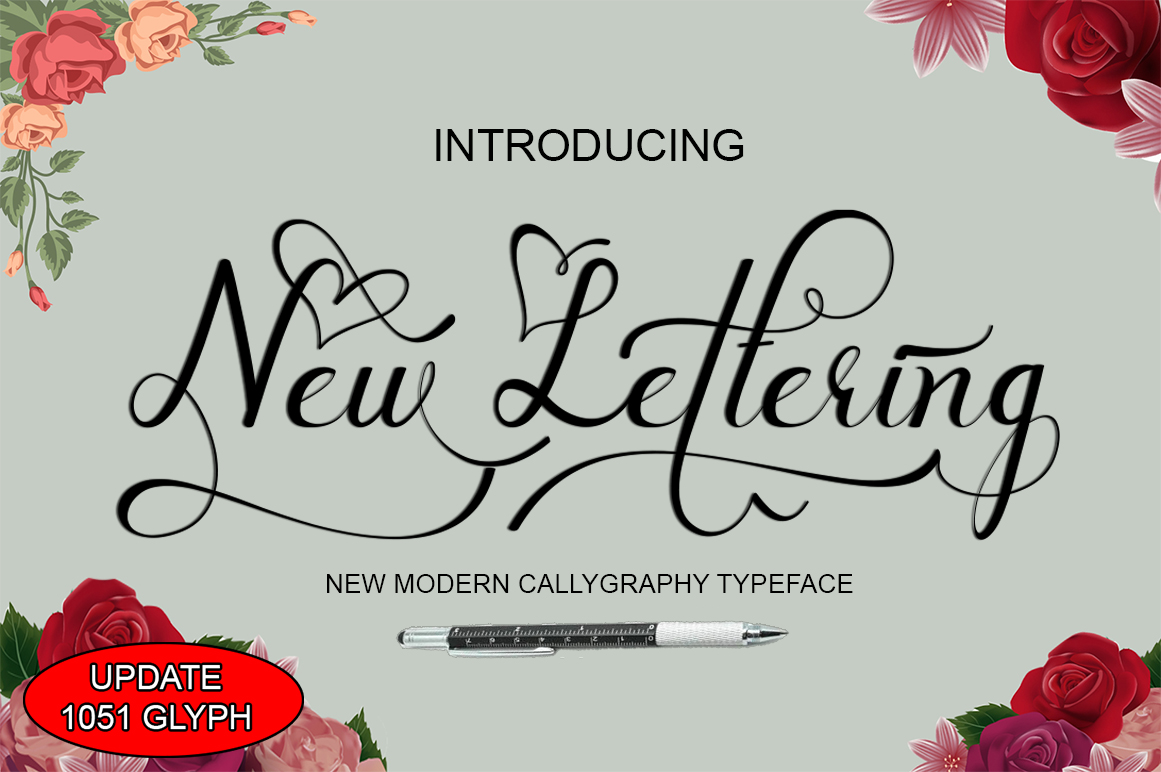 New lettering update example image 1
