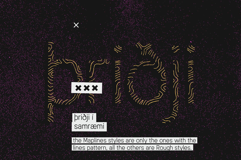 Austral Sans Maplines example image 4