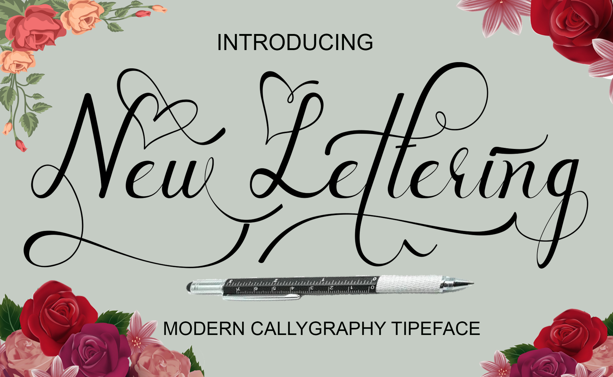 New lettering example image 1