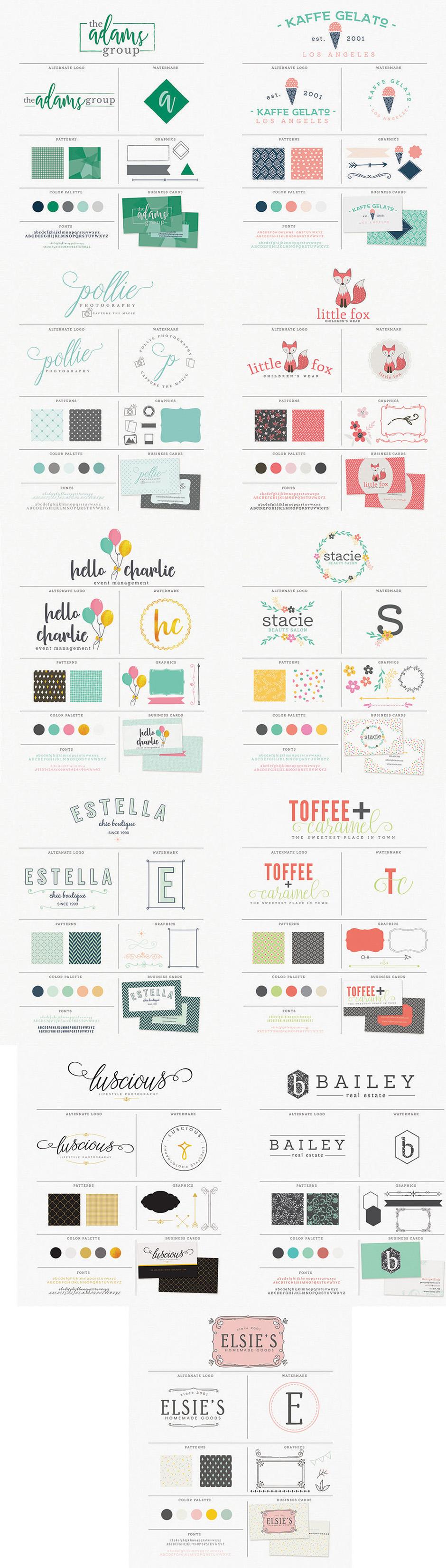 Essential Branding Kit example image 3