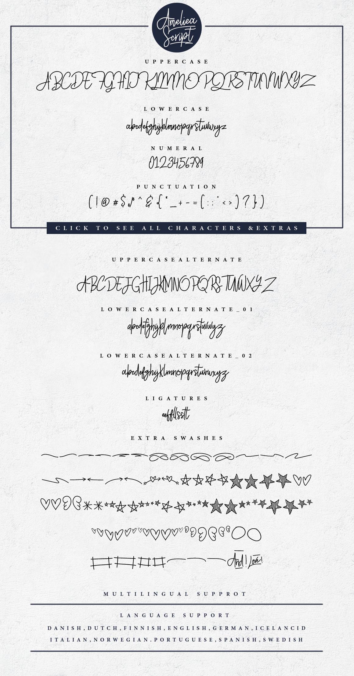 Ameliea Script example image 8