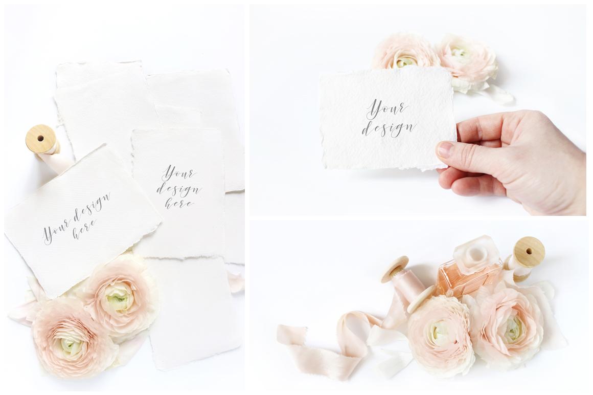 Blush Wedding mockups  & stock photo bundle example image 4
