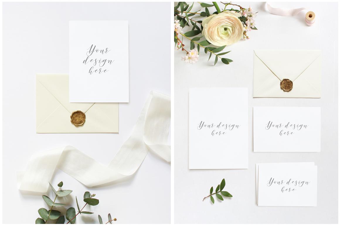 Spring Wedding mockups  & stock photo bundle example image 2