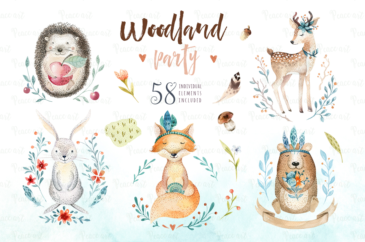 Woodland party I example image 1