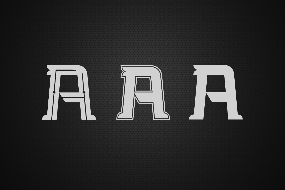 Bedengkang Typeface example image 3