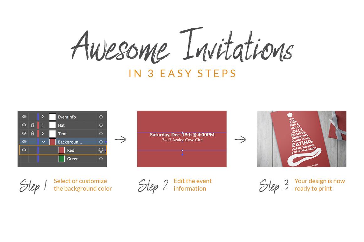 Christmas Invitation example image 2