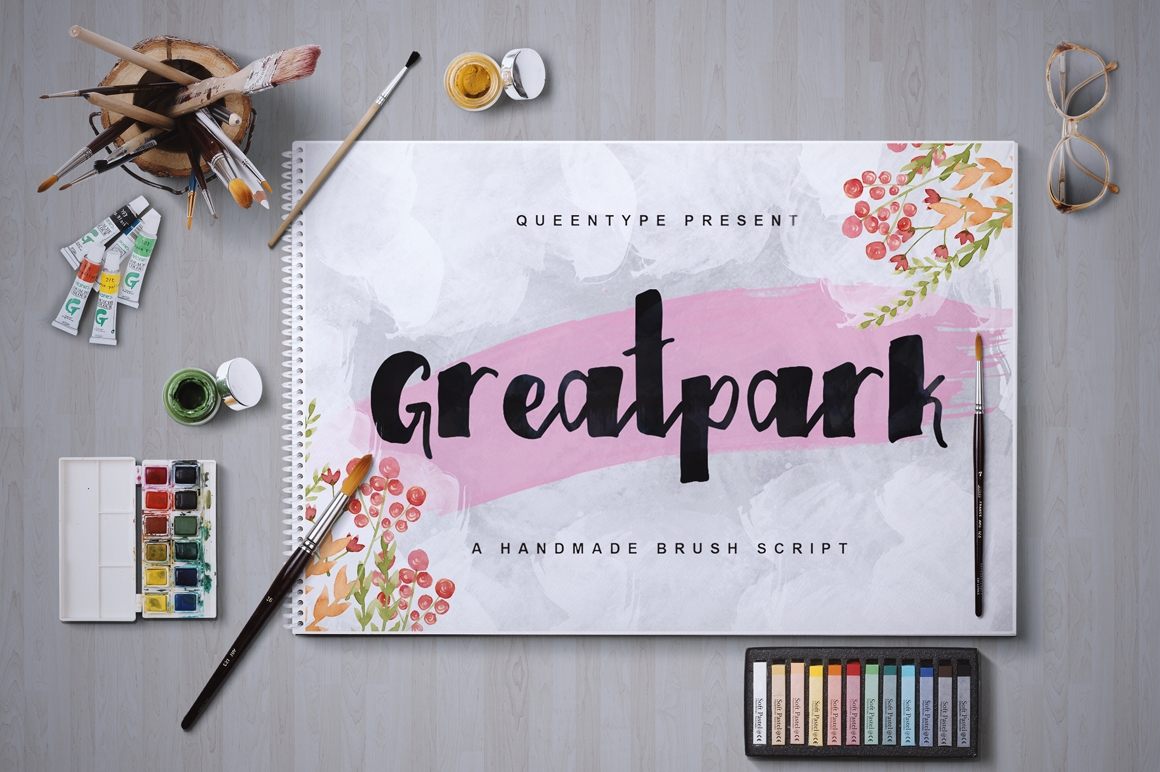 Greatpark Typeface example image 1