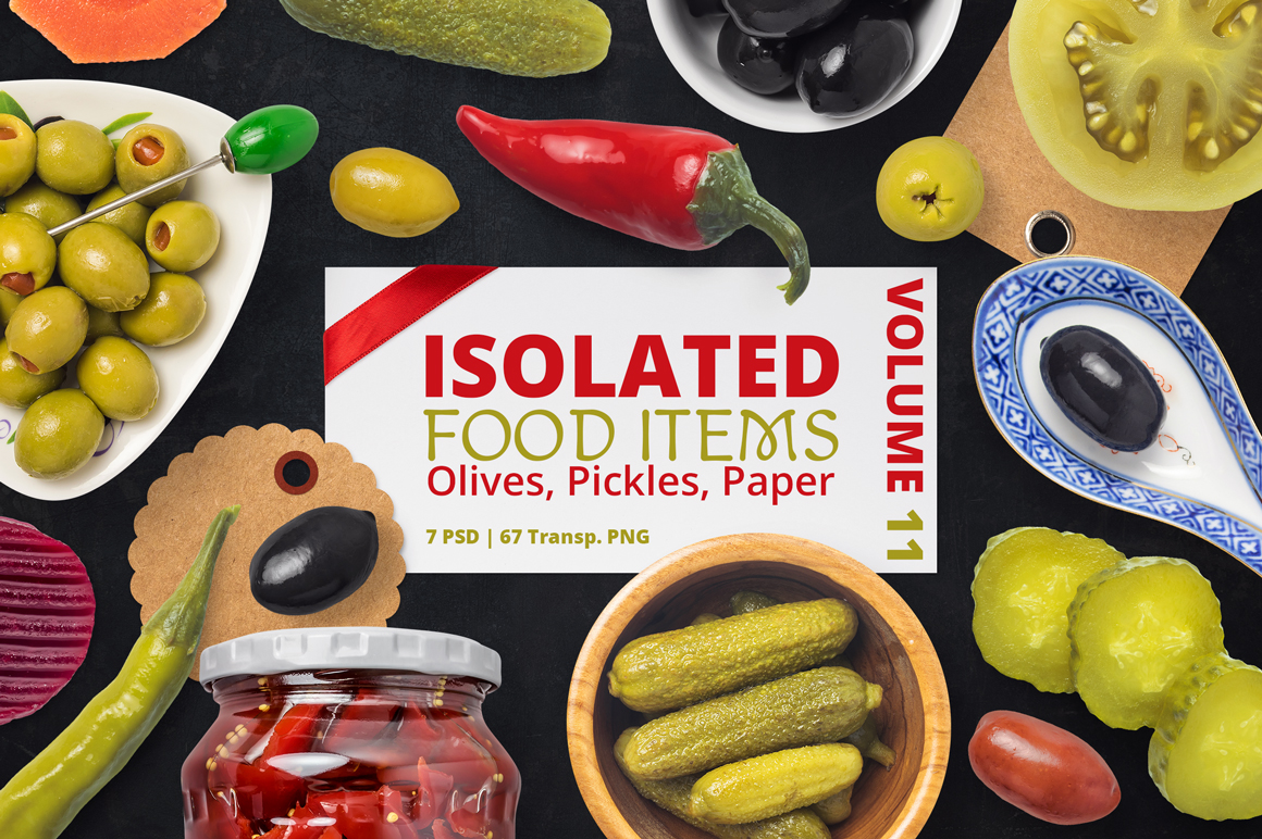Isolated Food Items Vol.11 example image 1