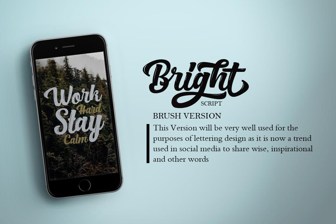 Bright Script (Fonts Trio)  example image 4