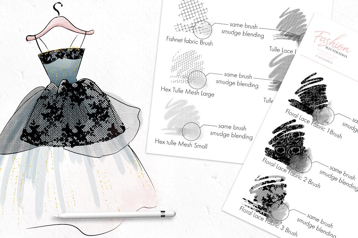 Fashion Illustration Brushes for Procreate example image 7