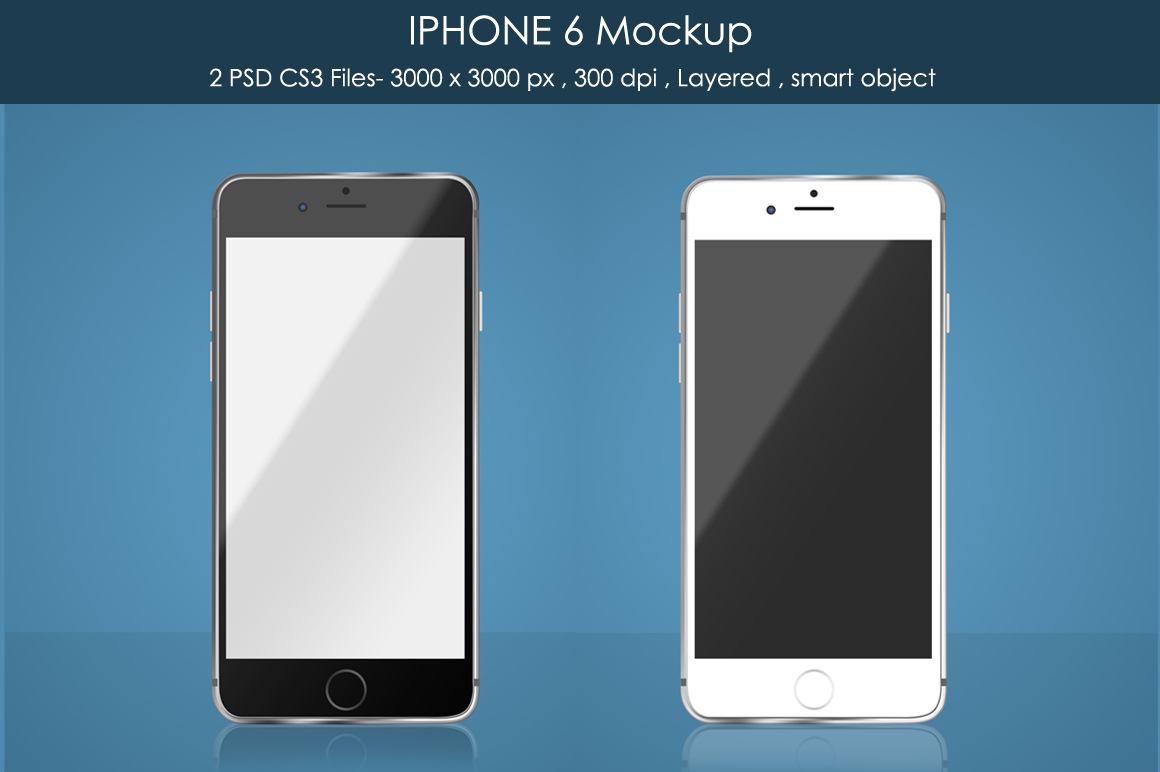 IPHONE 6 Mockup example image 1