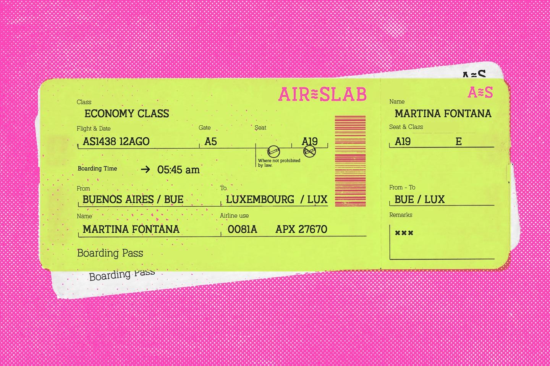 Austral Slab Stamp example image 10