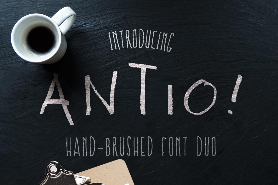 ANTIO! Prokopis | Font Duo example image 1