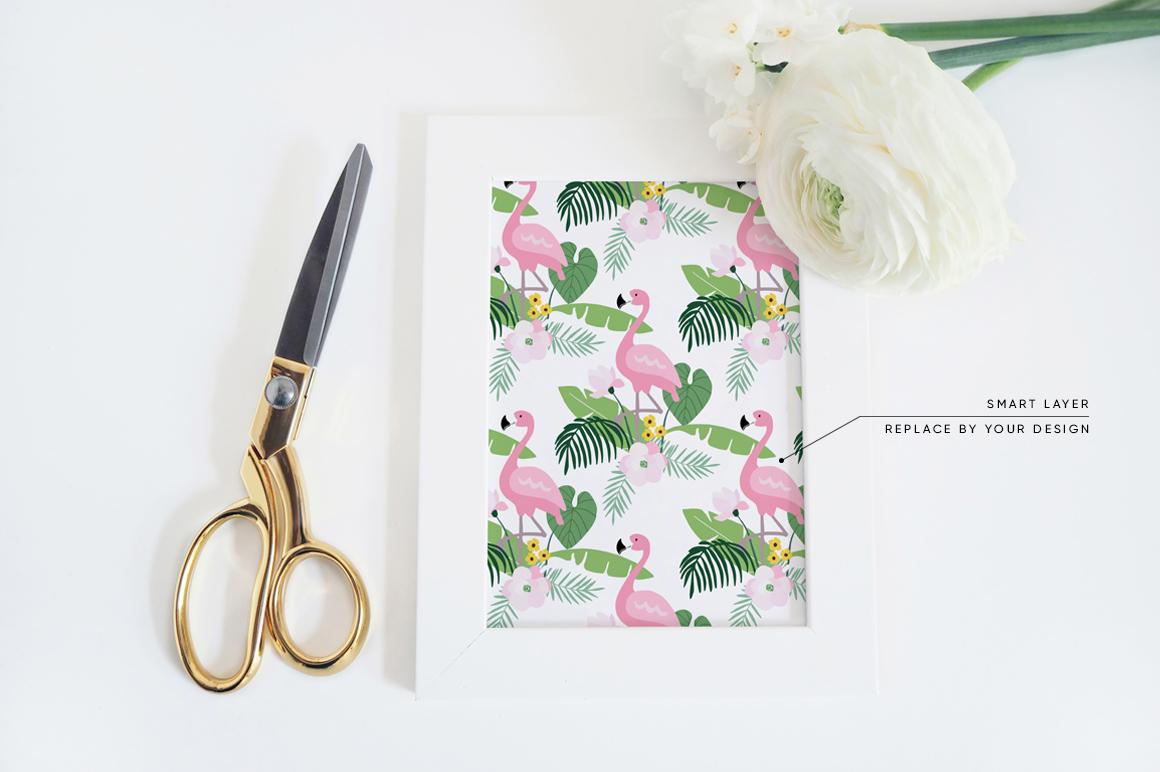 The White Flowers mock ups & photos bundle example image 2