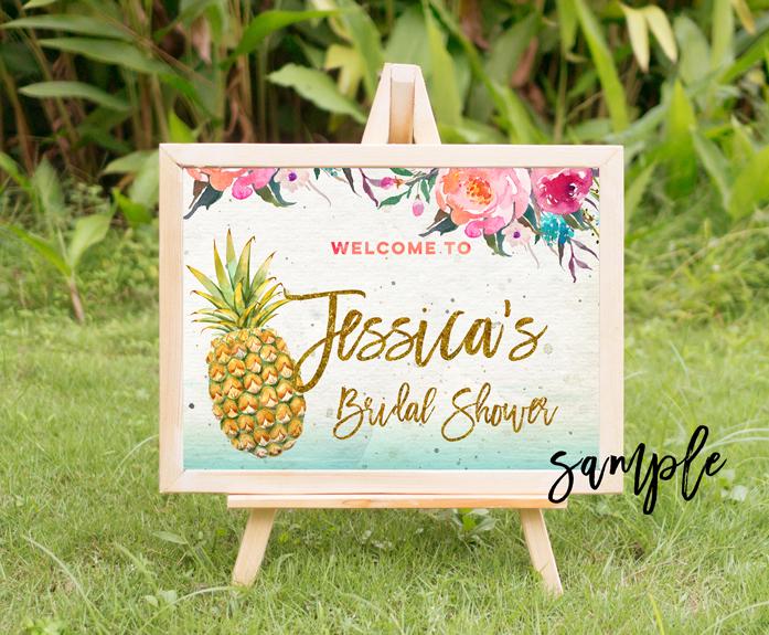 tropical summer mock up, summer mock up frame, summer wedding party frame, digital frame sign, landscape mock up, vertical mock up, PSD example image 3