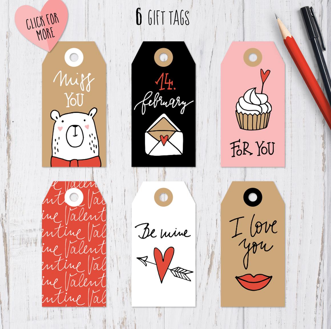 Happy Valentine graphic set example image 5