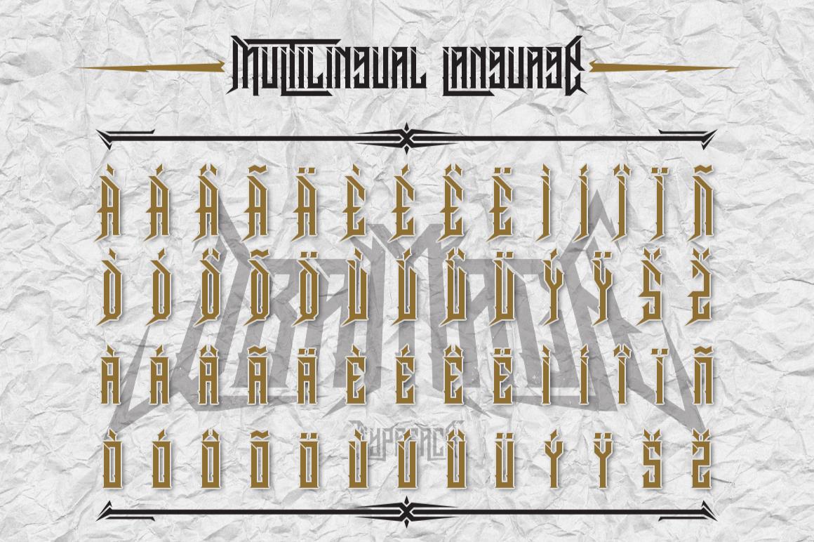 Dramaga Typeface example image 4