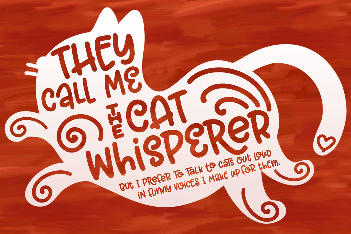 Garlic Butter: a tasty fun font! example image 6