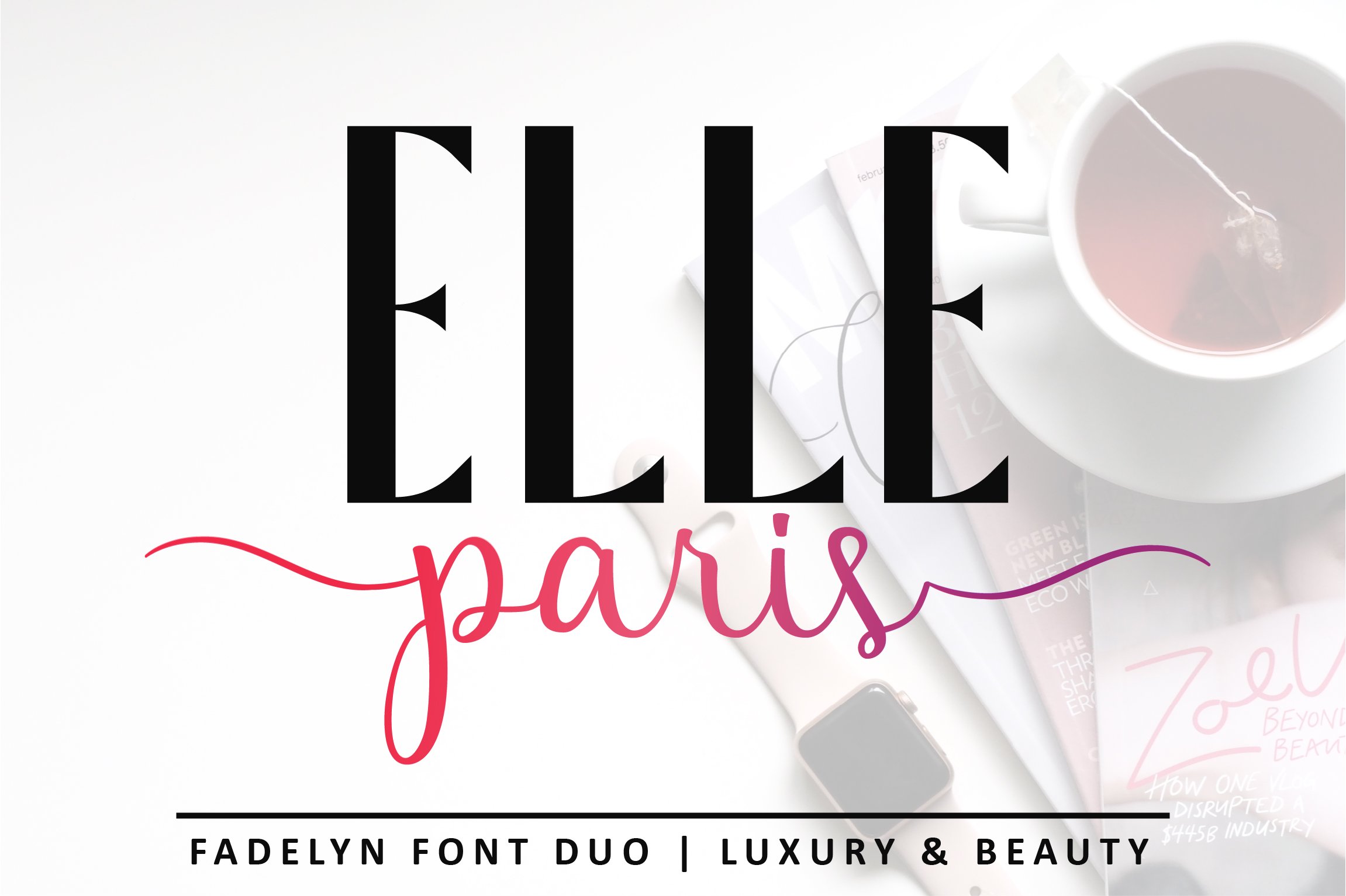 Fadelyn - Font Duo example image 13