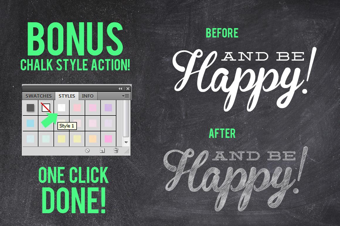 Mega Chalk Holiday Bundle (60% off) example image 3